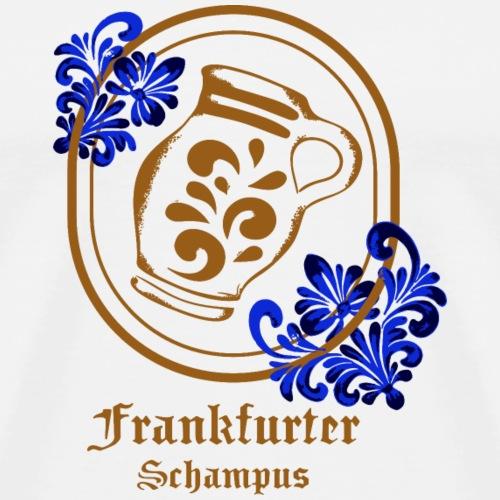 Bembel Frankfurter Schampus - Männer Premium T-Shirt