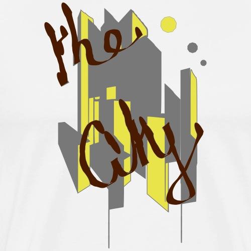 the city - T-shirt Premium Homme