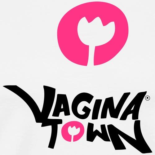 Vagina Town - Männer Premium T-Shirt