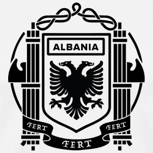 Flag of the Kingdom of Albania 39-43 - Men's Premium T-Shirt