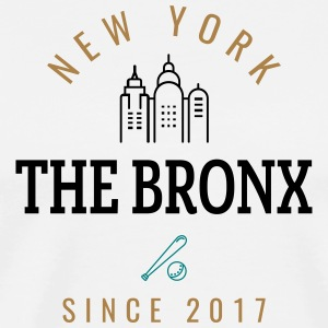 NEW YORK - THEBRONX - Premium T-skjorte for menn