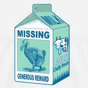 Brique de lait Missing dodo - T-shirt Premium Homme