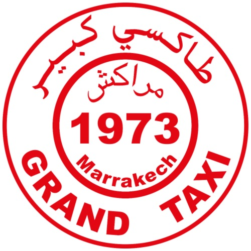 Grand taxi Marrakech - T-shirt Premium Homme