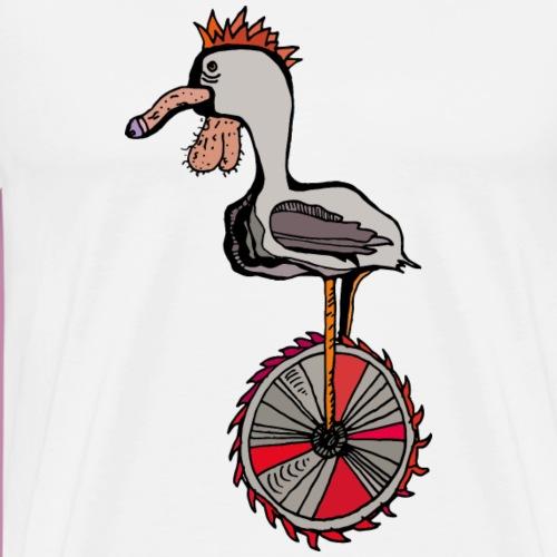 Cock on a Sawblade - Männer Premium T-Shirt