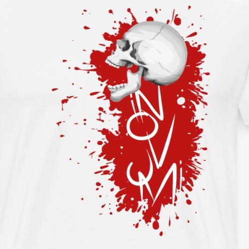 Novum Skull - Männer Premium T-Shirt