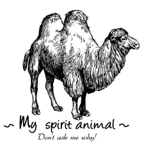 Mon animal totem est le chameau. - T-shirt Premium Homme
