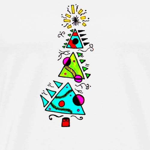 sapin graphique - T-shirt Premium Homme