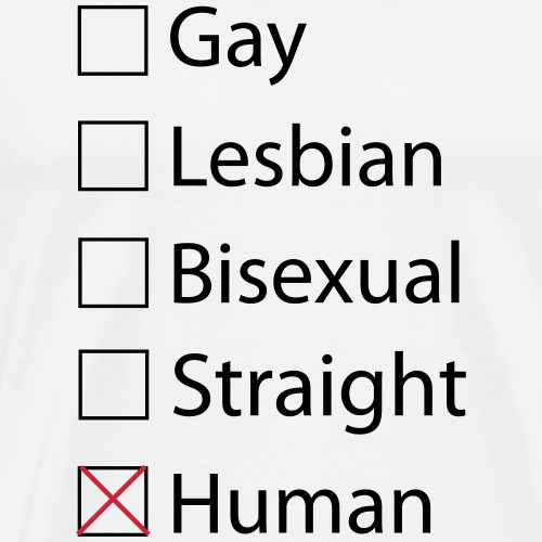 Just Human - Menschlich LGBTQ+ - Männer Premium T-Shirt