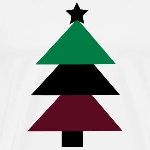Christmas tree - Premium-T-shirt herr