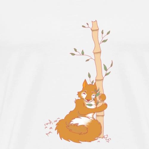 Le Renard et le bambou - T-shirt Premium Homme