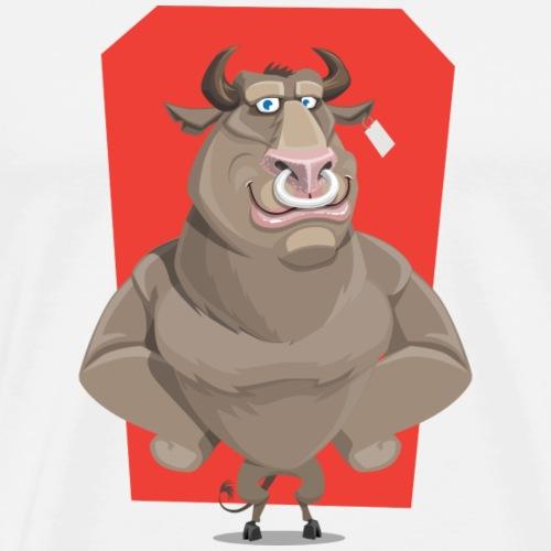 SWAGG BULL - Männer Premium T-Shirt