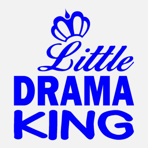 Little DRAMA KING - Männer Premium T-Shirt