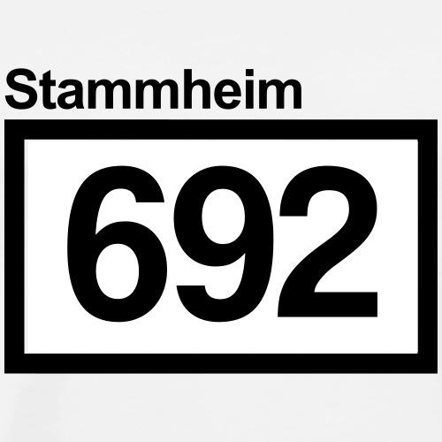 Stammheim 692 - Männer Premium T-Shirt