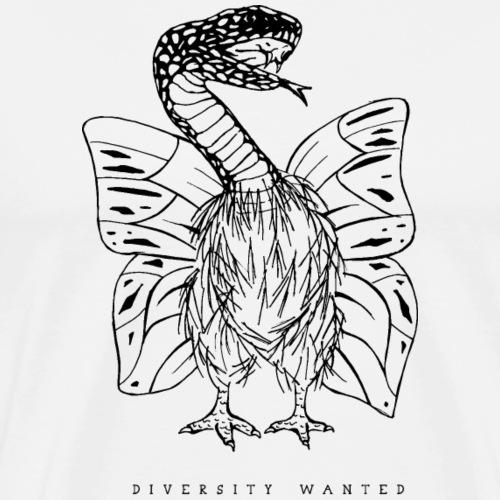 Natterhuhnling - Männer Premium T-Shirt