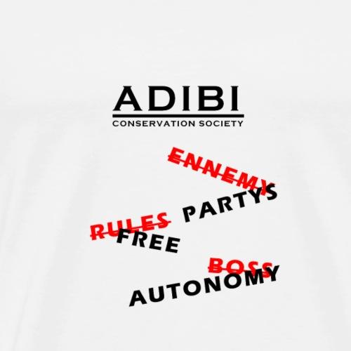 ADIBI FREEDOM - T-shirt Premium Homme