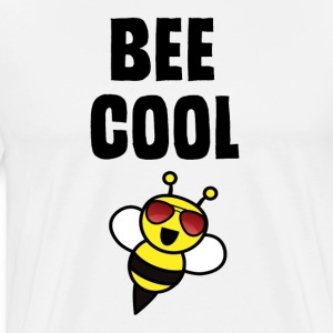 ++ ++ Bee Cool - Mannen Premium T-shirt