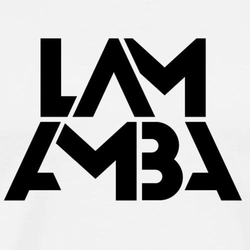 Lamamba classic (schwarz) - Männer Premium T-Shirt