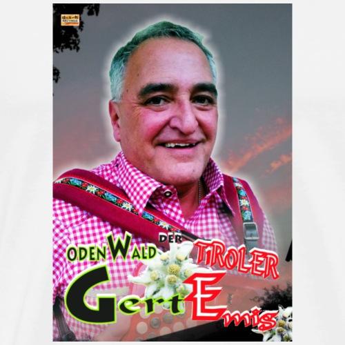 Der Odenwald Tiroler Gert Emig - Männer Premium T-Shirt