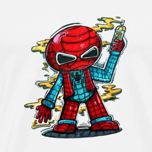 spidey - Herre premium T-shirt