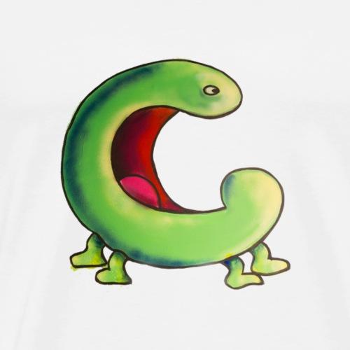 c - Herre premium T-shirt