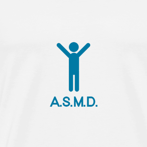 ASMD bleu - T-shirt Premium Homme