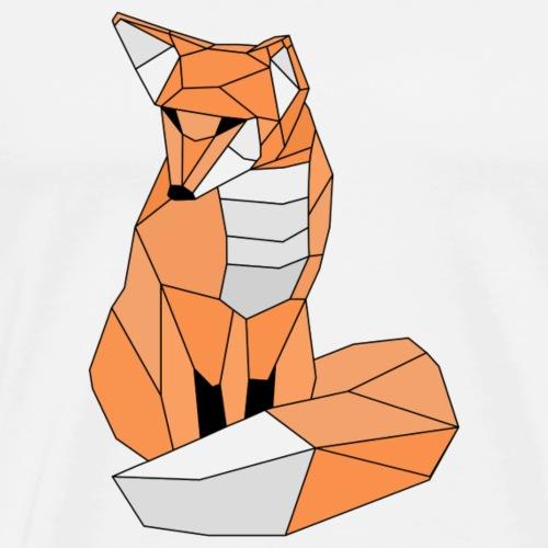 Fescher Fuchs - Männer Premium T-Shirt