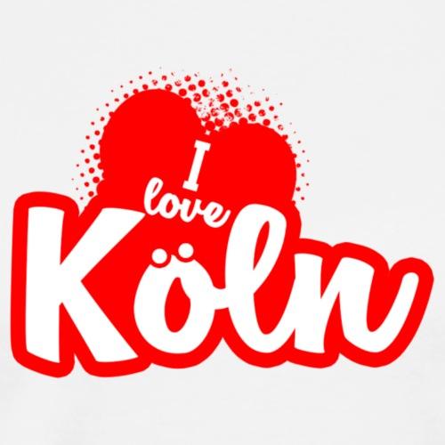 I Love Köln - Männer Premium T-Shirt