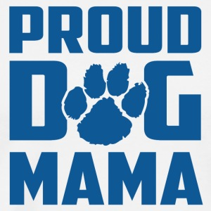 Proud Dog Mama - Männer Premium T-Shirt