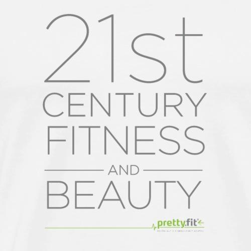 21st Century grau - Männer Premium T-Shirt