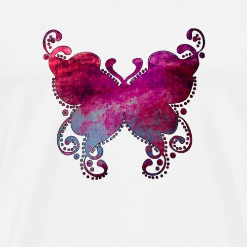 butterfly-png - Maglietta Premium da uomo
