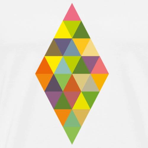 Rhombus - Männer Premium T-Shirt