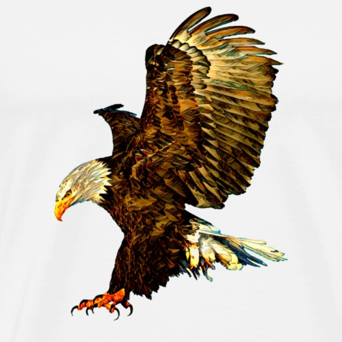 American Eagle 2 - Men's Premium T-Shirt