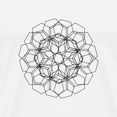 Blumenmischung - Männer Premium T-Shirt