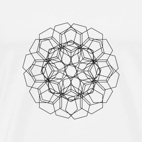Mieszanka kwiatów - Koszulka męska Premium