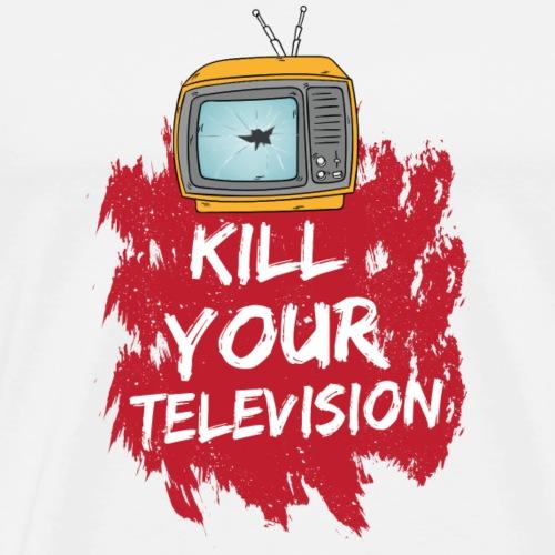 KILL YOUR TELEVISION - Männer Premium T-Shirt