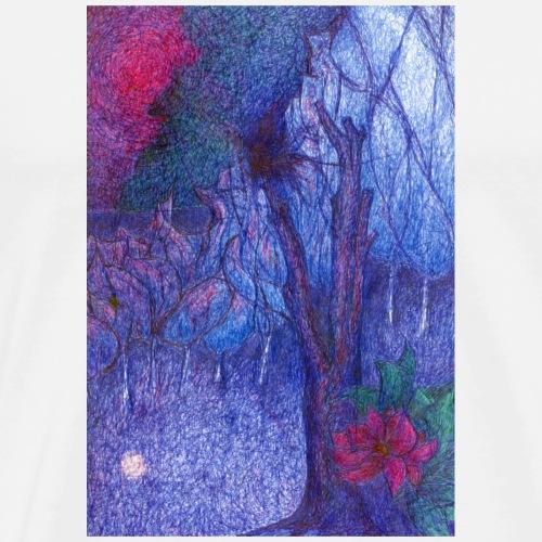 Forest Flower - Koszulka męska Premium