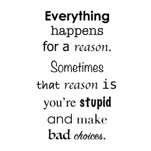 everything happens for a reason - Männer Premium T-Shirt