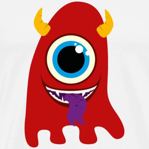 Monster / Alien Haustier - Männer Premium T-Shirt