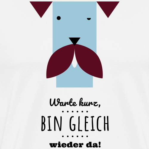 Ronja-gleich-wieder-da - Männer Premium T-Shirt