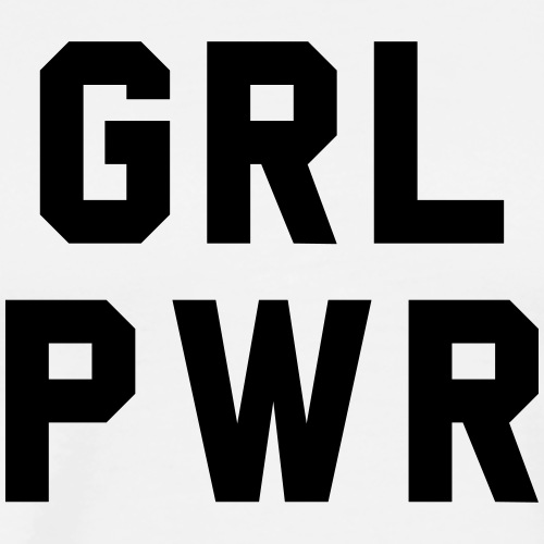 Girl Power - Premium-T-shirt herr