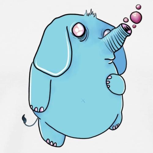 Eléphant à bulles - T-shirt Premium Homme