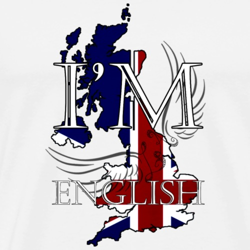 I am English - Maglietta Premium da uomo
