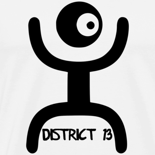 Logo District 13 - Männer Premium T-Shirt