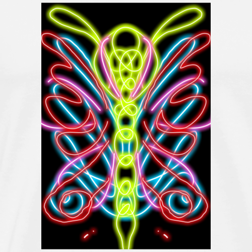 Mistyc butterfly - Maglietta Premium da uomo