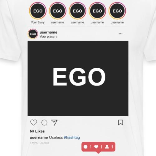Instagram EGO - Maglietta Premium da uomo
