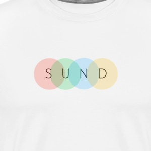 sund color - Mannen Premium T-shirt