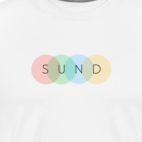 sund color - Mannen Premium T-shirt