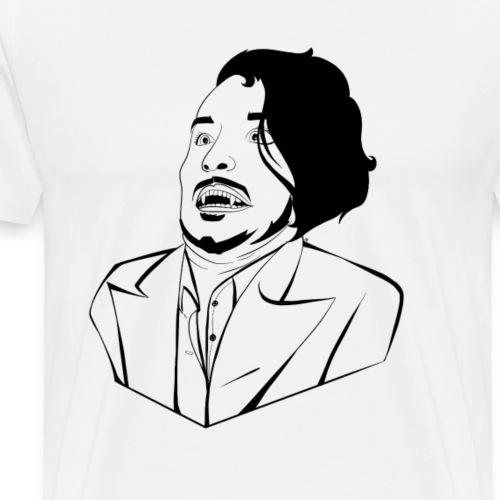 WAAAAHHHHH (White) - Men's Premium T-Shirt