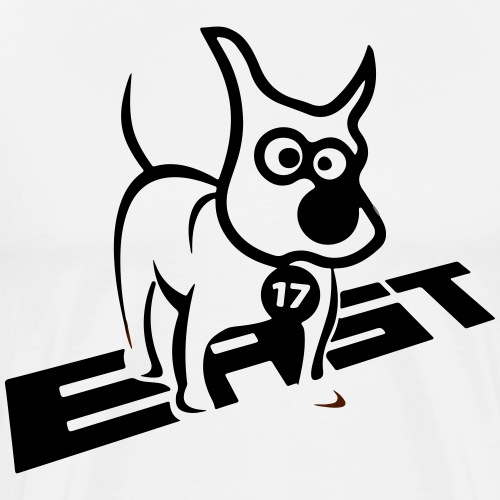 East 17 Standing Dog - Men's Premium T-Shirt