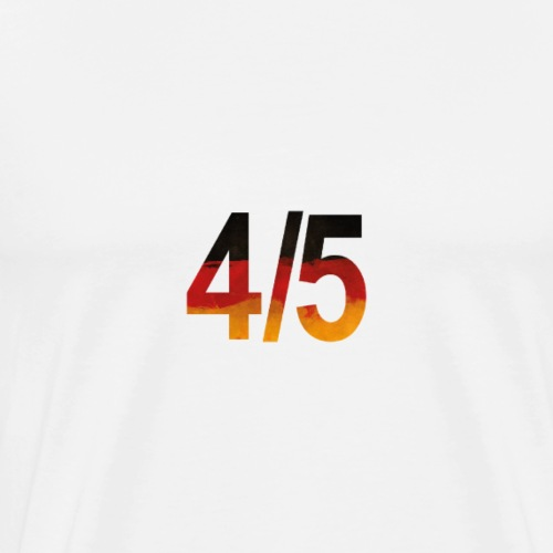 4 von 5 - Deutschlandflagge - Männer Premium T-Shirt